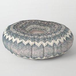 WARM WINTER MANDALA Floor Pillow