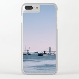 Walt Whitman Bridge - Philadelphia Clear iPhone Case