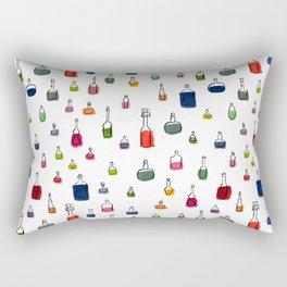 Coloured bottles pattern Rectangular Pillow