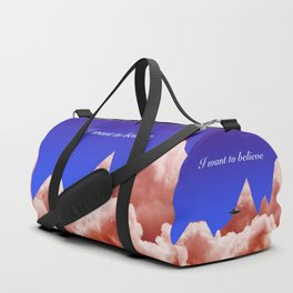 I WANT TO BELIEVE Sci-Fi Duffle Bag