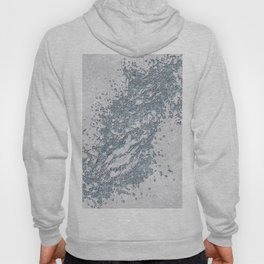 BE WATER MARBLE (abstract) Hoody