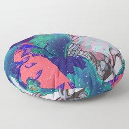 Cosmic Cockatoo Floor Pillow