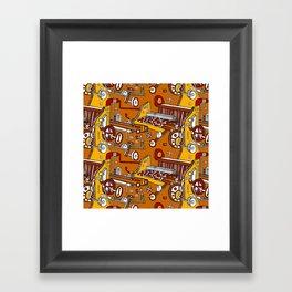Looming Large Framed Art Print