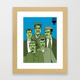 1001 Black Men--#278 Framed Art Print