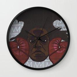 Jean-Michel Basquiat Wall Clock