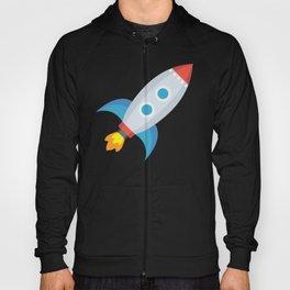 Space Rocket Emoji Hoody
