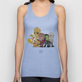 Guarding the Galaxy Unisex Tank Top