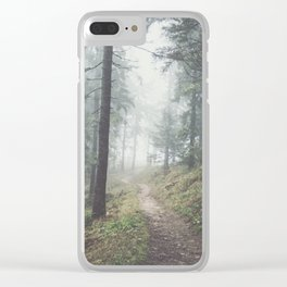 Into the unknown - Landscape and Nature Photography Clear iPhone Case