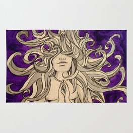 Medusa's Prayer  Rug