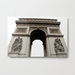 Arc de Triomphe de l'Étoile Metal Print