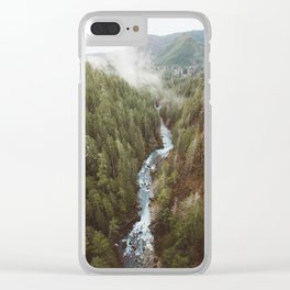 Vance Creek Clear iPhone Case