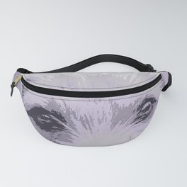 Curious little dog waiting for you - funny dog portrait Fanny Pack