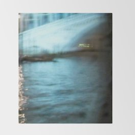 City Lights: Venice – Canal Grande – Ponte di Rialto # 201 Throw Blanket