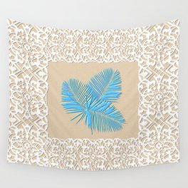 Florida (Tampa Bay blue palm) Wall Tapestry