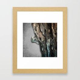 The Climber Framed Art Print