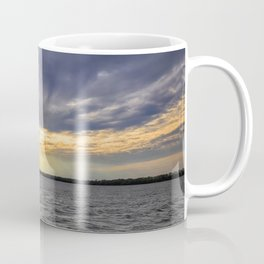 Sunset off the Bow Coffee Mug