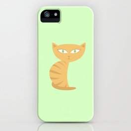 Mysterious Cat iPhone Case