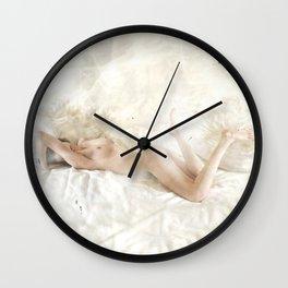 Foible Wall Clock