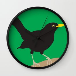 Blackbird Wall Clock