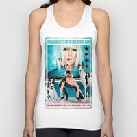 poker Tank Tops featuring POKER FACE by CARLOSGZZ