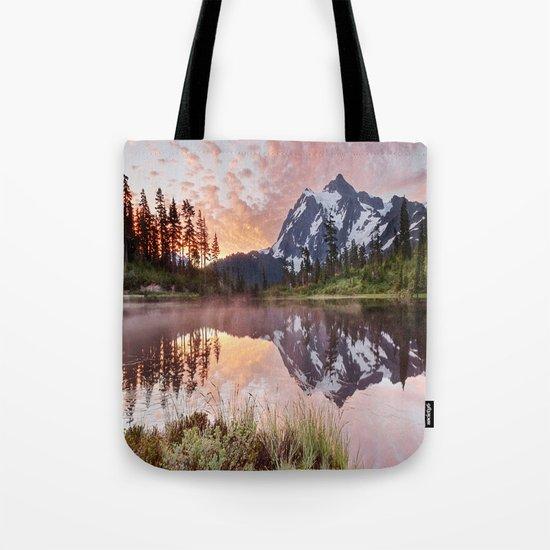 Mt Shuksan Tote Bag
