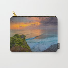 Sunset view from Uluwatu cliff Carry-All Pouch