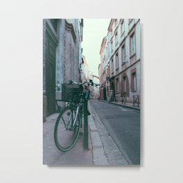 Bicycle in Toulouse, France Metal Print