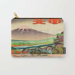 Vintage poster - Japan Carry-All Pouch