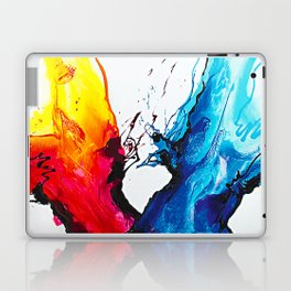 Abstract Art Britto - QB292 Art Print Laptop & iPad Skin