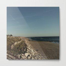 Oceanic landscape: Lacanau  3 Metal Print