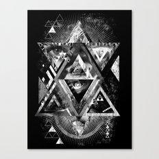 Eyesosceles B&W Canvas Print