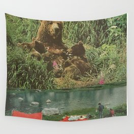 Wild adventure Wall Tapestry