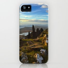 Old Man of Storr, Scotland iPhone Case