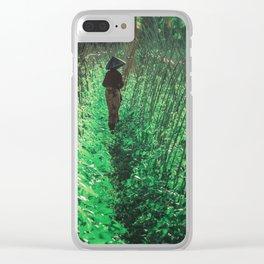 Lombok garden Clear iPhone Case