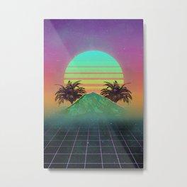 80s love Metal Print