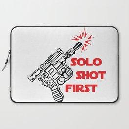 Han Shot First Laptop Sleeve