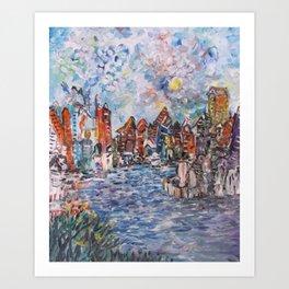 City Beautiful Art Print