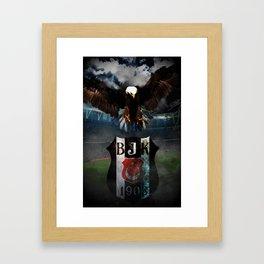 For the Love of Besiktas (Color) Framed Art Print