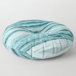 Ocean Ripples Floor Pillow