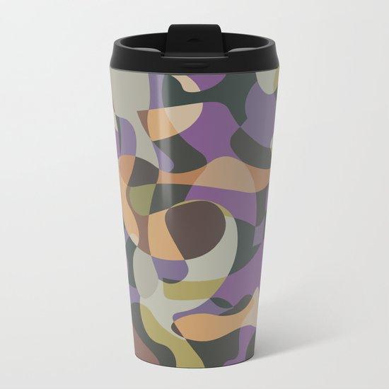 Camouflage XXXVII Metal Travel Mug
