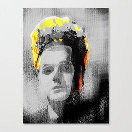 Erase my Head Canvas Print
