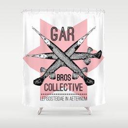Gar Bros Collective: Gar Axis Design Shower Curtain