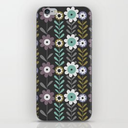 Nocturnal flowers iPhone Skin