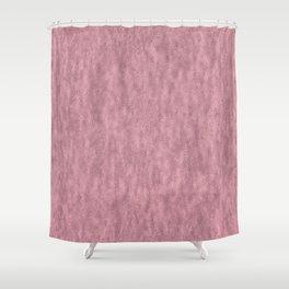 Light Crinkled Blush Foil Shower Curtain