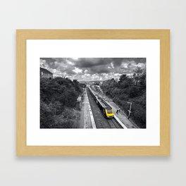 Liskeard High Speed Train  Framed Art Print