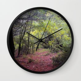 Spring in my heart Wall Clock