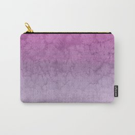 Pink Purple  Gradient Watercolor Painting Carry-All Pouch