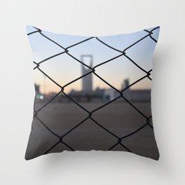 Kingdom Center in Saudi Arabia Throw Pillow