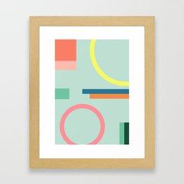 Modern Geometric 71 Framed Art Print