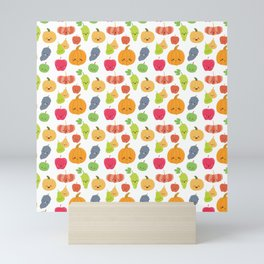 KAWAII FRUIT Mini Art Print